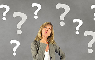 It's Decision Time–What do you believe? (Image: Woman questioning.)