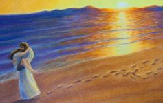 "Jesus Will Carry You (Image: Footprints in the Sand"" by jtbarts.com)"