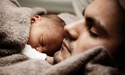 End-Times Instruction from Jesus: Do Not Fear. Enter God's Rest. (Image: Father holding infant.)