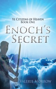 Enoch in the clouds with a sword